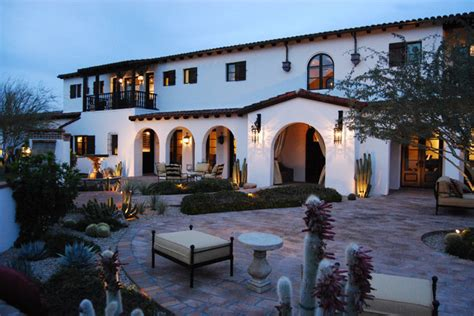 spanish colonial homes paradise valley spanish colonial mediterranean
