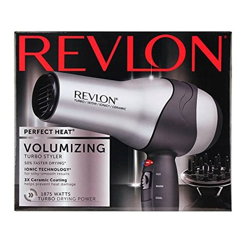 Volumizing Hair Dryer Attachments revlon 1875w volumizing turbo hair dryer import it all