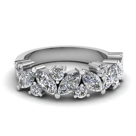 marquise wedding ring fascinating diamonds