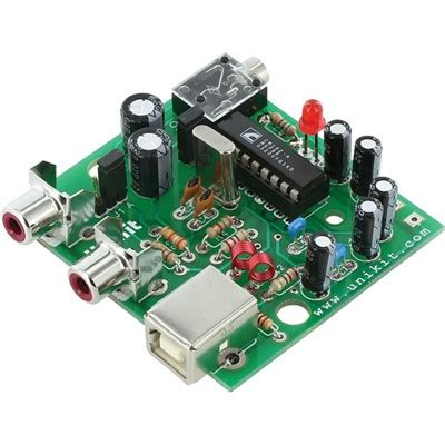 Kit Tone Stereo Well 007s usb stereo audio lifier