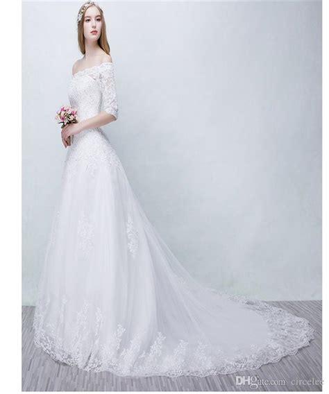 winter wedding dresses simple white gowns vintage elegant