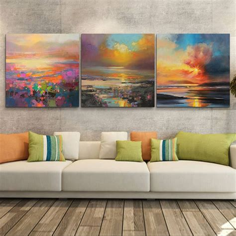 Abstract Canvas Wall