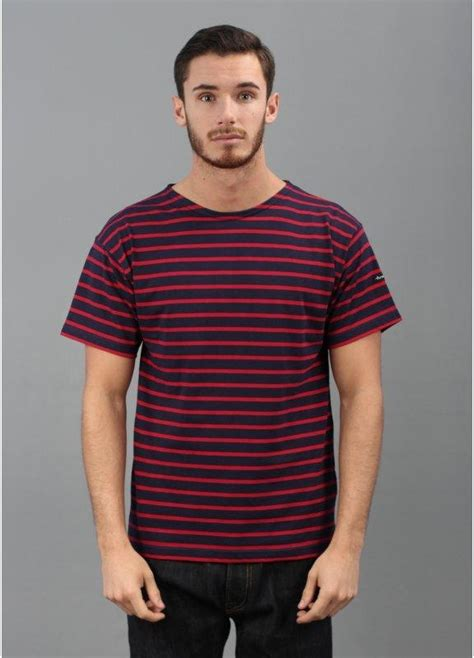 7 Striped Tops I by Armor Theviec Breton Stripe T Shirt Blue