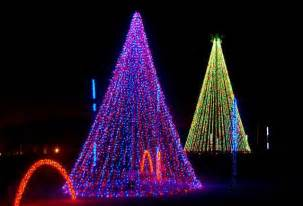 christmas lights at adventure park usa