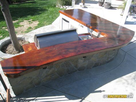 Acid Staining Concrete Countertops by Acid Staininggpt Construction