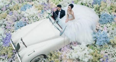 chelsea glenn wedding chelsea dan glenn hadirkan taman eden dalam konsep foto