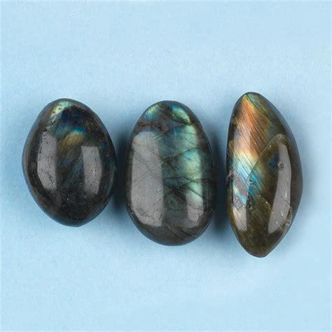 spectrolite labradorite tumbled polished gemstones small