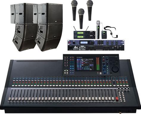 Microphone Wireless Sony Ak 22 qsc kla church sound system qsc kla12 active line array
