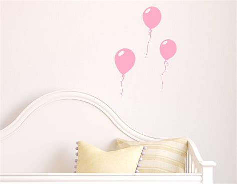 Wall Sticker Balon Uk 60x90cm light pink balloons