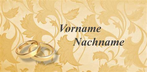 Kostenlose Vorlage Karte Hochzeit tischkarten goldene hochzeit kostenlose vorlagen