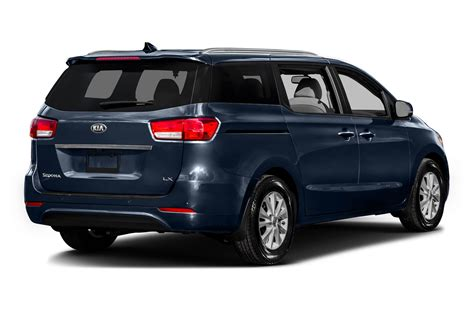 Kia Minivan Price 2016 Kia Sedona Price Photos Reviews Features