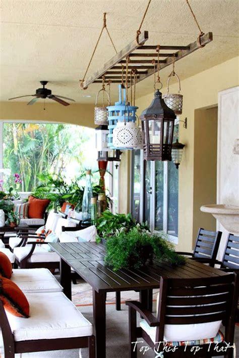 illuminazione shabby illuminare giardino e veranda ecco qualche idea shabby