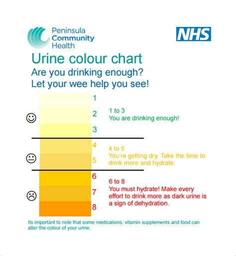 what color is healthy urine 9 sle urine color charts pdf sle templates