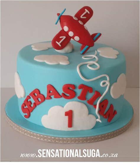 Book Theme Baby Shower by Aeroplane 1st Birthday Cake Sensational Suga