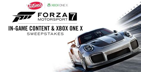 Sweepstakes Xbox One - totino s forza motorsport 7 xbox one x sweepstakes giveaway gorilla