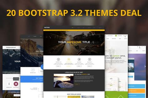35 best bootstrap design templates themes free