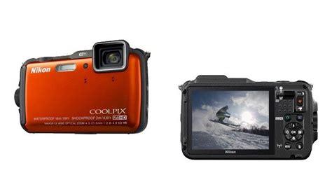 Kamera Nikon Aw120 Kompakte Outdoorkamera Nikon Coolpix Aw 120 Mit Wlan Und Gps