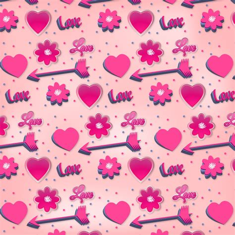 pattern pink photoshop romantic pink pattern photoshop vectors brushlovers com