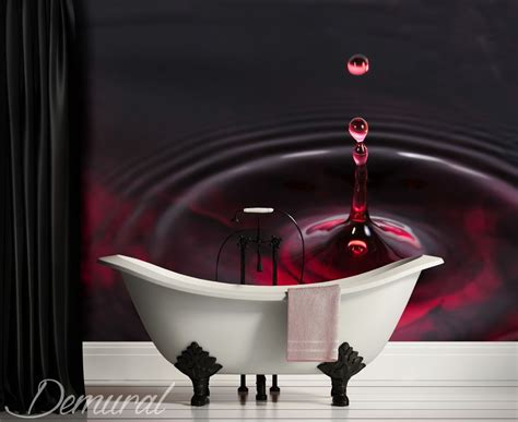 bathroom wall murals uk falling water drop bathroom wallpaper mural photo