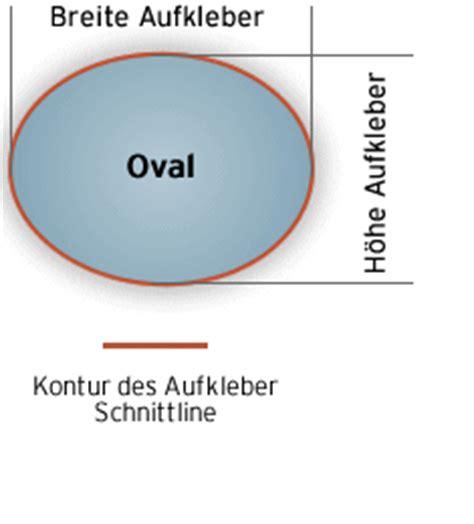 Aufkleber Druck Oval by Ovale Aufkleber Drucken Ihr Motiv Als Aufkleber
