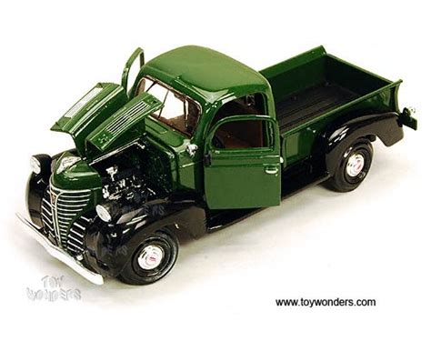 Motor Max 143 1941 Plymouth Truck 1941 plymouth truck by showcasts 1 24 scale diecast model car wholesale 73278gn 6