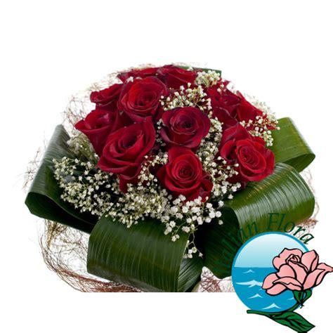 fiori laurea uomo bouquet di rosse
