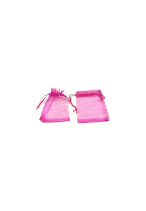 textile gift bags organza 177 120x90mm