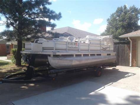 used pontoon boats oklahoma beachcomber pontoon boat for sale