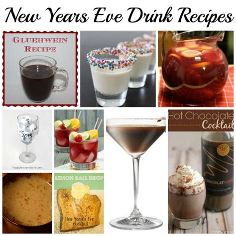 new year drink ideas new years drink recipes designed