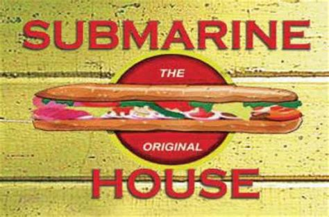Submarine House Menu by Submarine House Dayton Oh 45415 Menus And Reviews