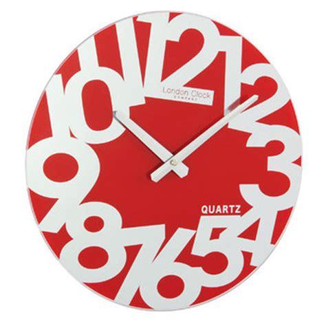 red wall clocks australia funky mirror red wall clock australia purely wall clocks
