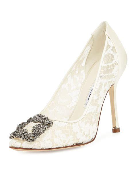 Aldorra Lace Shoes Flat Shoes Premium Black Flowerslace manolo blahnik hangisi floral lace toe pumps in