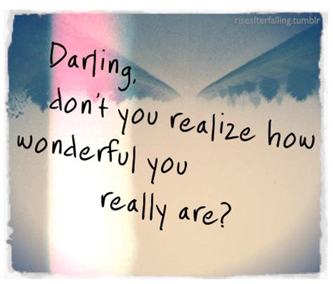 Wonderfull You you are wonderful quotes quotesgram