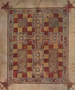 mittelalter teppich lindisfarne gospels eccentric bliss