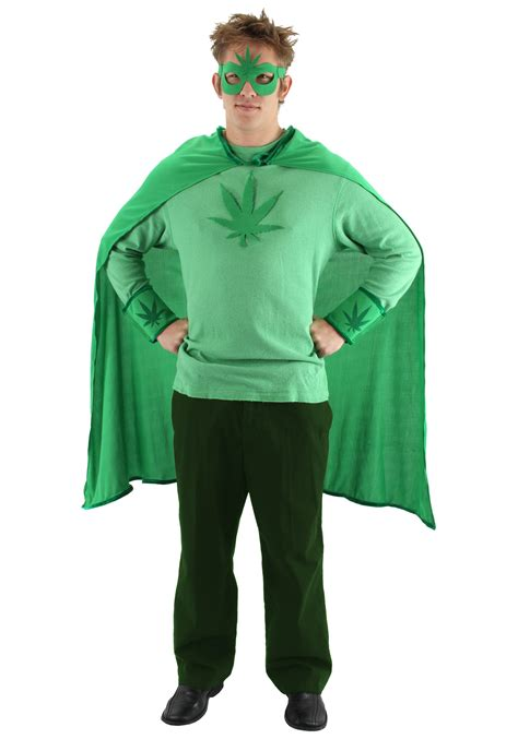 Buy Halloween Decorations Weed Man Costume Kit