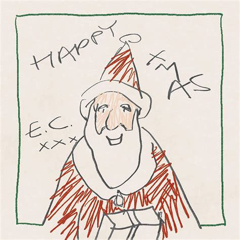 eric clapton records  holiday album happy xmas  classic bands