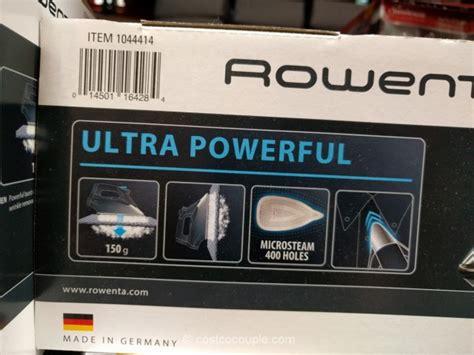 rowenta steam expert iron modeldw