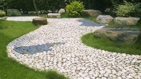 giardino sassi bianchi vialetto giardino fai da te foto 7 40 design mag