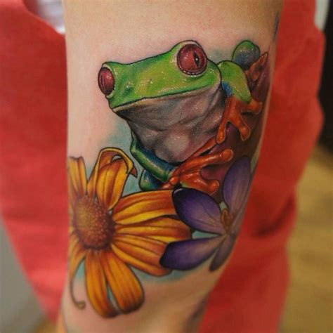 tree frog tattoo designs 80 lucky frog designs meaning placement 2018