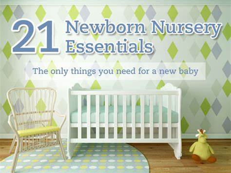 things you need for a room new baby nursery checklist newborn essentials bub hub