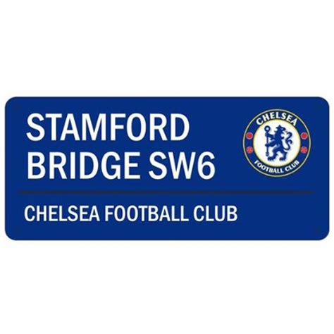 official chelsea football club 1780549466 official football club street road signs manchester chelsea arsenal more ebay