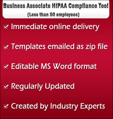 hipaa policy templates for business associates business associate hipaa compliance tool kit forms policies
