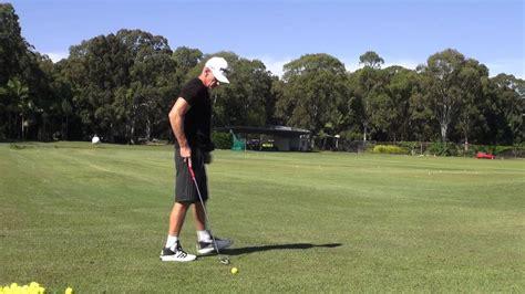 handsy golf swing moe norman starting downswing drill doovi