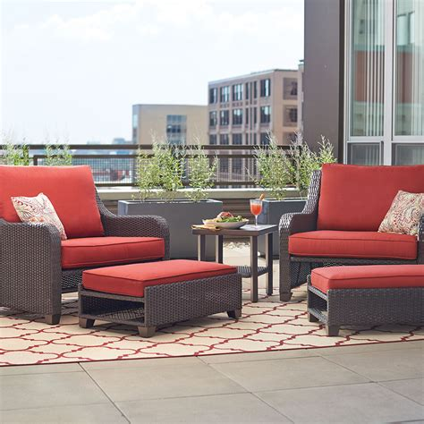home depot patio chairs create customize your patio furniture sauntera
