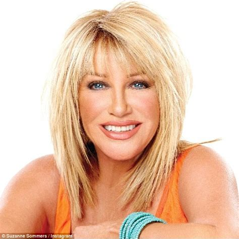 how hard is it to do suzanne somers hairstyle suzanne somers looks sensational as she promotes new book