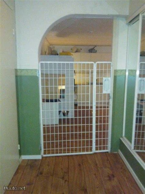 extra tall dog gates for the house extra tall metal dog gate huuto net pets pinterest