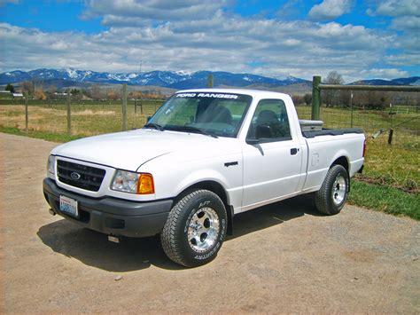 Light White 2001 Ford Ranger Regular Cabshort Bed Specs