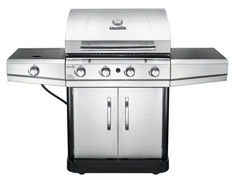 char broil 4 burner stainless steel gas grill with cabinet char broil classic 4 burner stainless steel 48 000 btu propane gas grill w cover barbecues