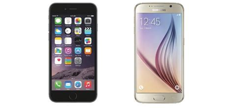 apple iphone 6s vs samsung galaxy s6 agazoo