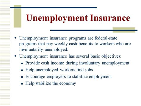 a to z list of state unemployment insurance offices and lecture sixteen social insurance ppt video online download